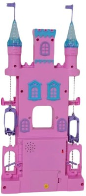 Turban Toys Battery Operated Musical Fairyland CASTLE Play Set For Kids