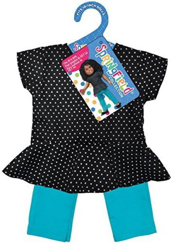 Fibre Craft Playtime Outfit For 40-45 Doll(Black)