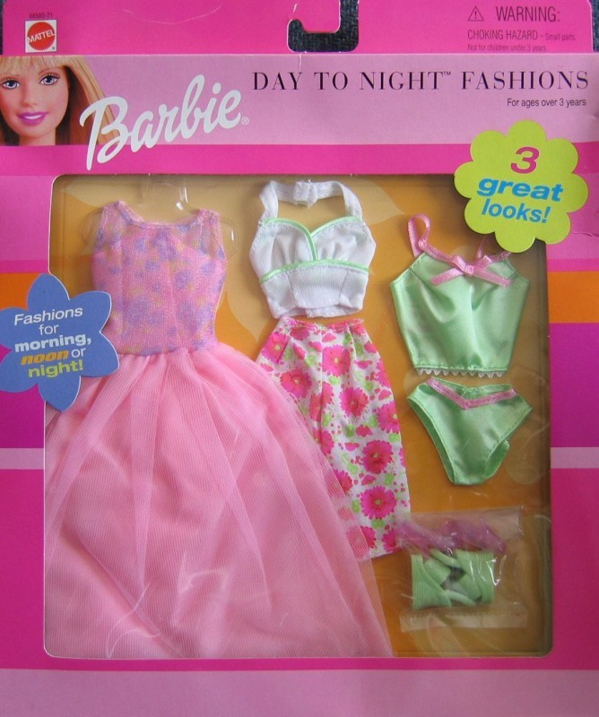 Barbie Casual Outfit, Party Outfit For 29.2 cm Doll(Multicolor)