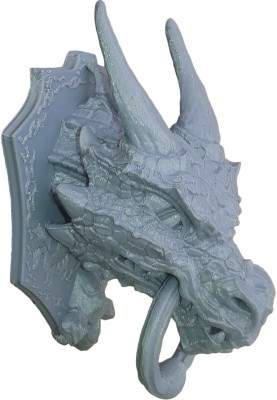 Unique Shape Dragon Showpiece Plastic Door Knocker(Iron)