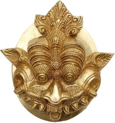 Aakrati Yali Face Brass Door Knocker
