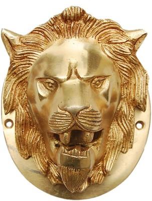 Aakrati Lion Brass Door Knocker