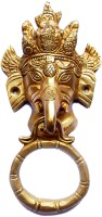 Aakrati Brass Door Knocker(Antique Brass)