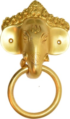 Aakrati Designer Brass Elephnat Royal Door Knocker Brass Door Knocker(Brass)