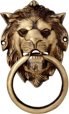 Handecor Lion Mouth Brass Door Knocker(Antique Brass)