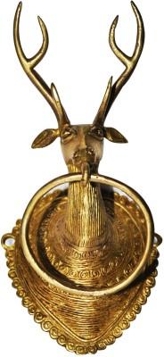 Aakrati Deer Towel Stand Brass Door Knocker
