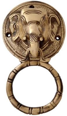 Aakrati Elephant Brass Door Knocker