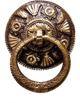 KT Hardware Solutions Brass Door Knocker(Antique Brass)