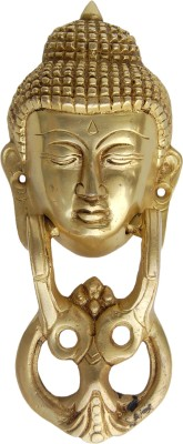 Aakrati Door Hardware Fitting Brass Door Knocker(Brass)