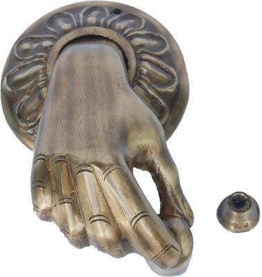 Aakrati Hand Shape Brass Door Knocker