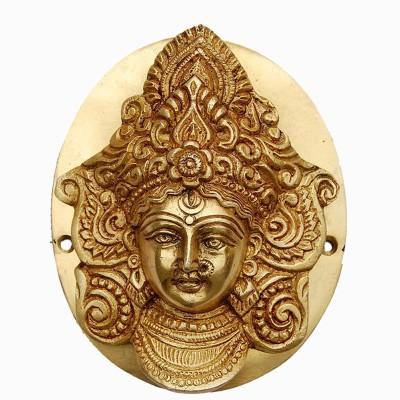 Aakrati Goddess Durga Face Brass Door Knocker
