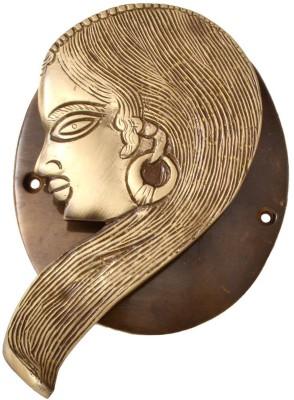 Aakrati Lady Face Brass Door Knocker