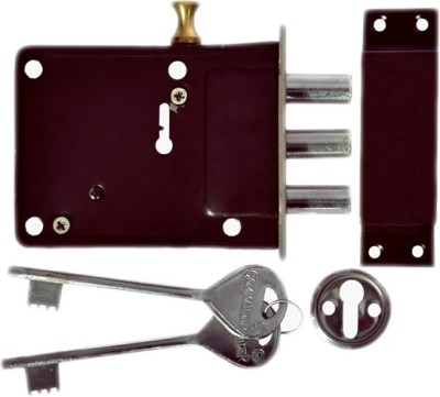 Homeproducts4u Iron Polished door lock