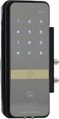 Yale Stainless Steel, Aluminium, Nickel Matte door lock