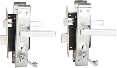 Sunrise Steel, Iron Matte door lock(Steel)