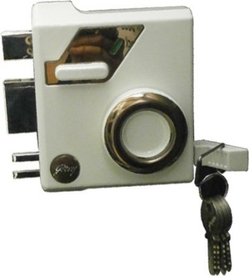 Godrej Stainless Steel Metallic door lock