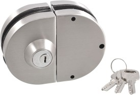Klavia Stainless Steel Matte door lock(Silver)