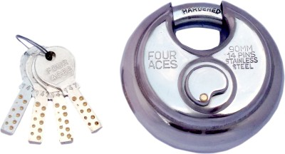 FOUR ACES Stainless Steel Chrome door lock