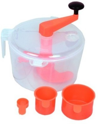 Ezone Atta Maker Plastic Detachable Dough Maker(Multicolor)