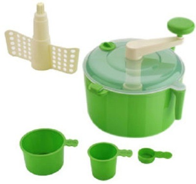 Sagar Atta Plastic Detachable Dough Maker(Green)