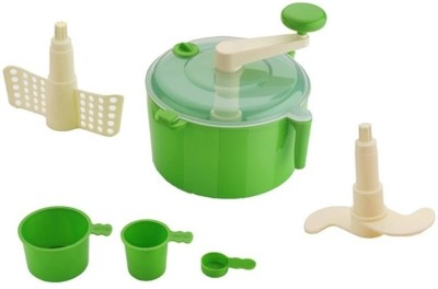 VR Atta Maker Plastic Vertical Dough Maker(Green)