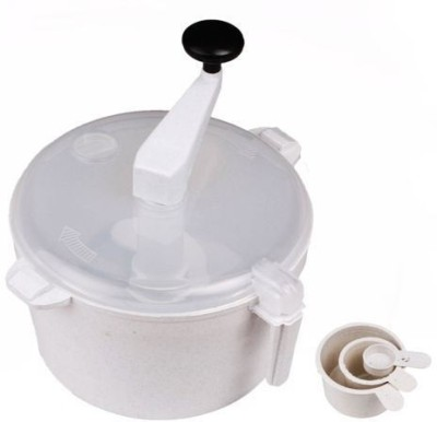 Mooz Atta Plastic Detachable Dough Maker(White)