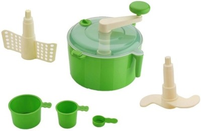 VR EASY Plastic Continuous Dough Maker(Green, White)
