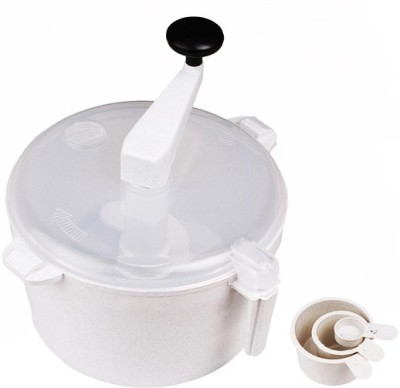 Peach Easy Polypropylene Detachable Dough Maker(White)