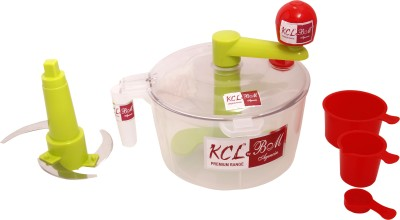 Kcl Atta Plastic Spiral Dough Maker(Multicolor)