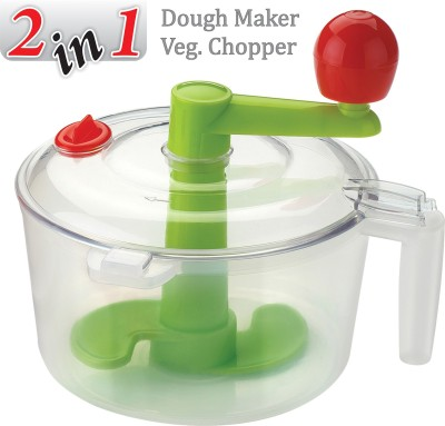Ankur 2 In 1 Dough Maker Plastic Spiral Dough Maker