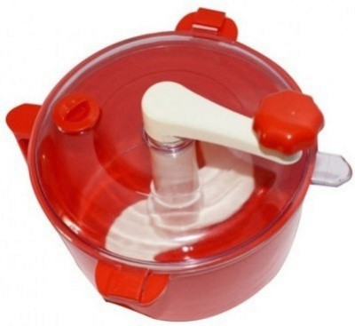 Your Choice Red Jewel Multi Purpose / Beater / Mixing bowl / Dough for Chapatti, Roti, Parathas Plastic Spiral Dough Maker