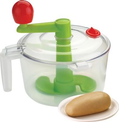 Shopo 2 in 1 Vegetable Chopper and Atta Plastic Spiral Dough Maker