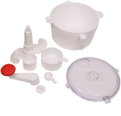 Pogo Plastic Detachable Dough Maker(White)