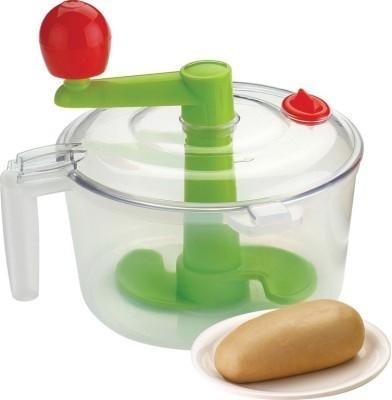 Shopo 2 in 1 Atta Maker With Chop & Churn Plastic Spiral Dough Maker