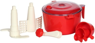 VR Plastic Spiral Dough Maker(Red)