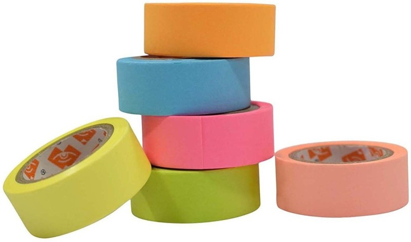 ENERZY Adhesive Paper Tape T-13 Drafting Tape(15 mm x 5 m)