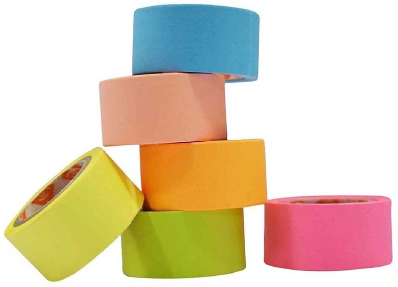 ENERZY Adhesive Paper TapeT-14 Drafting Tape(20 mm x 5 m)