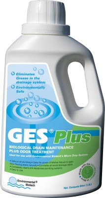 GES Plus (Chemical-free Drain Cleaner) Liquid Drain Opener