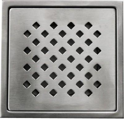 Aquieen Floor Stainless Steel Push Down Strainer