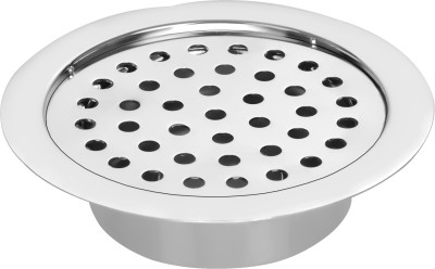 Hoy Basin, Floor Stainless Steel Push Down Strainer