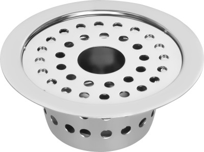 Hoy Kitchen Sink, Bathtub, Basin, Bathroom Sink, Floor Stainless Steel Push Down Strainer(12.5 cm Set of 1)
