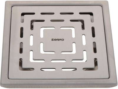 Sakino Floor Stainless Steel Push Down Strainer