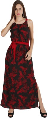 Lemon Chillo Women's A-line Black Dress