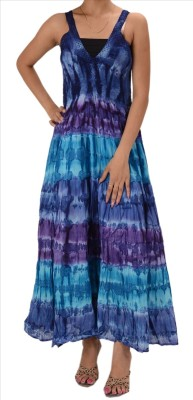 Skirts & Scarves Women's Maxi Multicolor Dress