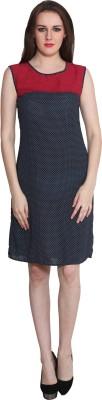 Eva De Moda Women's Sheath Multicolor Dress