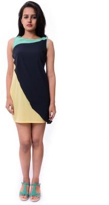 Nangalia Ruchira Women's Layered Yellow Dress
