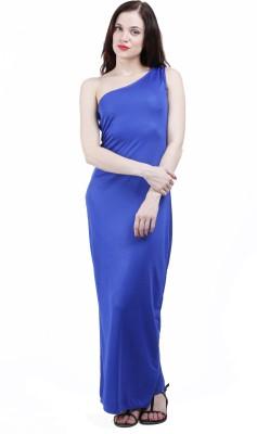 BD Fashion Women's Maxi Blue Dress