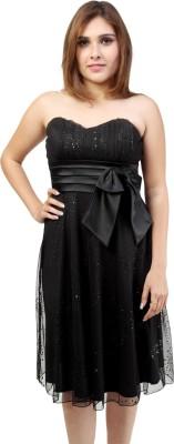 KoKoBella Women's High Low Black Dress