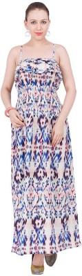 Amari West By INMARK Women's Maxi Multicolor Dress