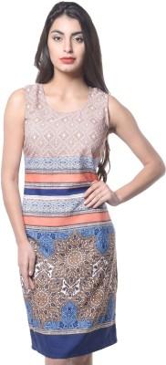 Meira Women's Shift Multicolor Dress